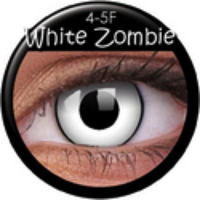Funny Lens White Zombie mit Stärke
