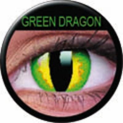 Funny Lens Green Dragon ohne Stärke
