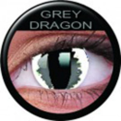 Funny Lens Grey Dragon ohne Stärke
