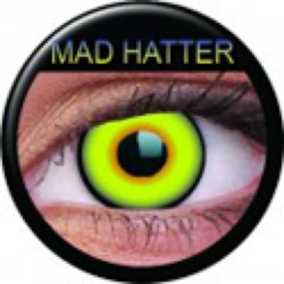 Funny Lens Mad Hatter ohne Stärke
