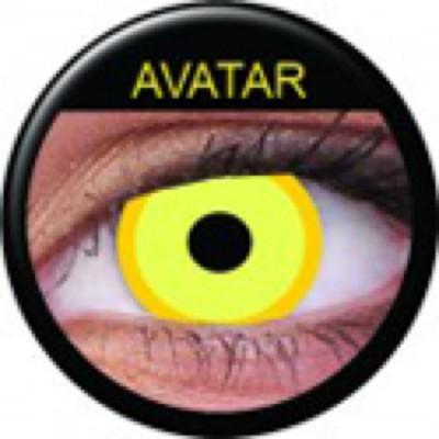 Funny Lens Avatar mit Stärke