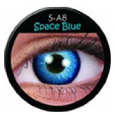 Funny Lens Space Blue ohne Stärke