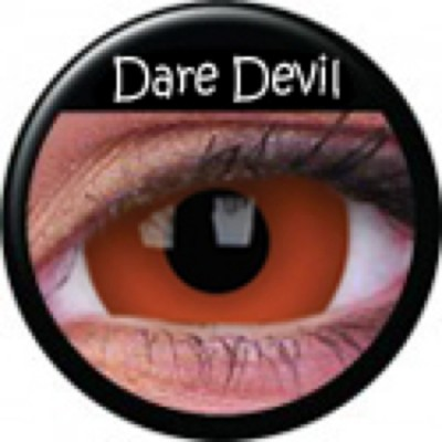 Mini-Sclera Daredevil ohne Stärke, (2 Linsen), 0 dpt