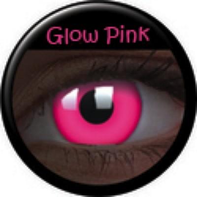 Glow Pink ohne Stärke, (2 Linsen), 0 dpt