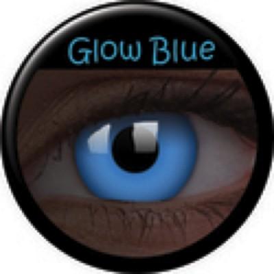 Glow Blue ohne Stärke, (2 Linsen), 0 dpt