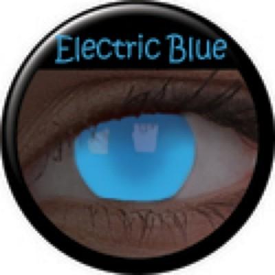 Glow Electric Blue ohne Stärke, (2 Linsen), 0 dpt