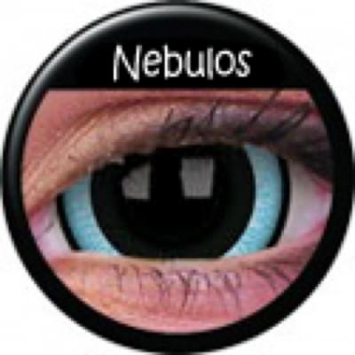 Mini-Sclera Nebulos ohne Stärke, (2 Linsen), 0 dpt
