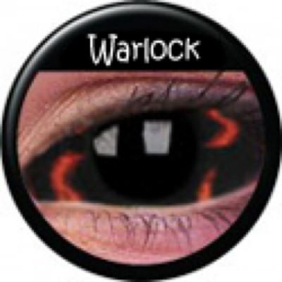 Sclera Warlock ohne Stärke, (2 Linsen), 0 dpt