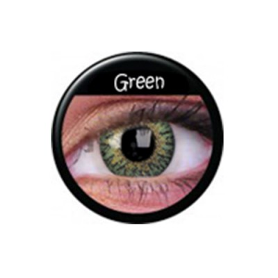 TruBlends Green ohne Stärke, (2 Linsen), 0 dpt