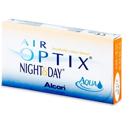 Air Optix Night and Day Aqua (3 Linsen)
