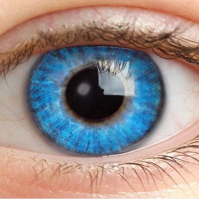 Farblinsen Blau Ohne Stärke - Blue Water