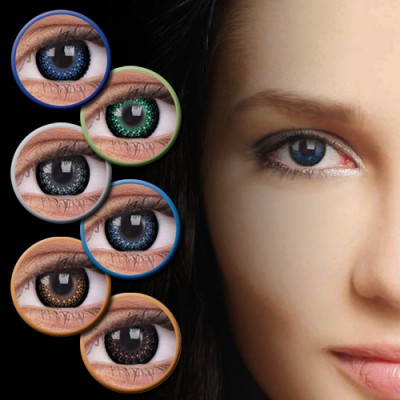 ColourVUE EYELUSH Farblinsen ohne Stärke