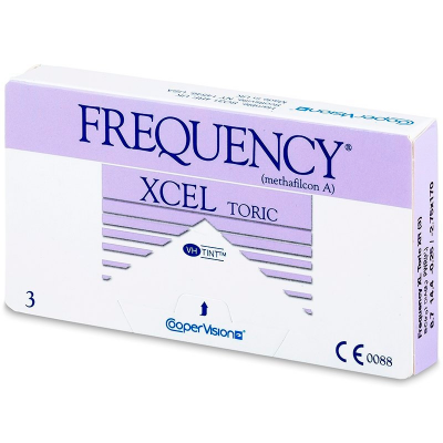 FREQUENCY XCEL TORIC XR (3 Linsen)