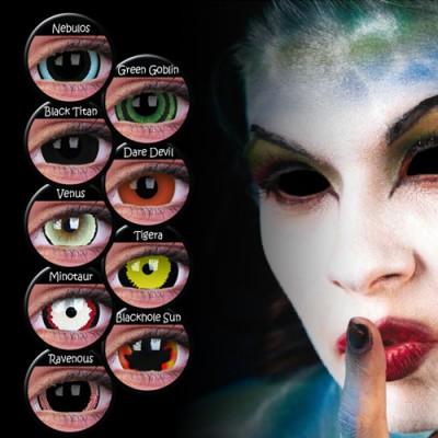 ColourVUE MINI SCLERA Farblinsen ohne Stärke