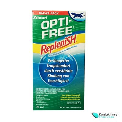 Opti-Free® RepleniSH®  1 x 90 ml Reiseset von Alcon