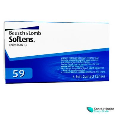 SofLens 59 von Bausch & Lomb