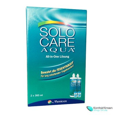 Solo Care Aqua®  2 x 360 ml von Menicon