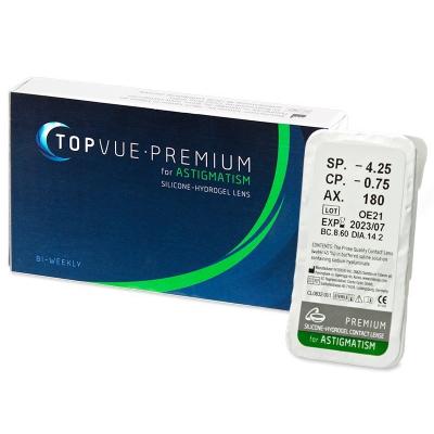 TopVue Premium for Astigmatism (1 Linse)