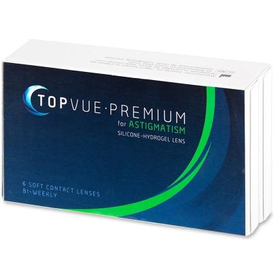 TopVue Premium for Astigmatism (6 Linsen)